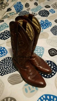leather cowboy boots Lethbridge, T1K 7P5