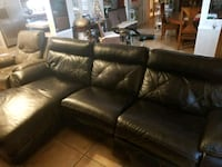Leather couch sectional Opa-locka, 33055