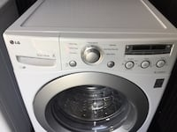 White lg front-load clothes washer Innisfil, L9S
