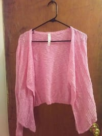 Pink over dress sweater Syracuse, 13206