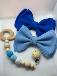 Baby bows and teether Baltimore, 21220