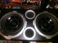 black and gray subwoofer speaker Owensboro, 42301