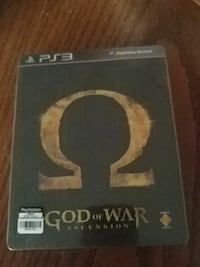 God of war Ascension PS3 game New Westminster, V3M 1J9