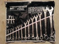 16 Piece Metric Combination Wrench Set  Rockville