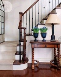 railings and stain