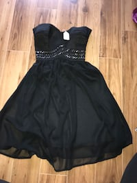 Short black dress 3712 km