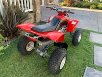 2000 Trx  400 with electric start comes with paddles  current tags Long Beach, 90808