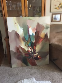 "BOLD AND BEAUTIFUL PRINT ON CANVAS - 50"" x 40"" Lakewood, 80215"