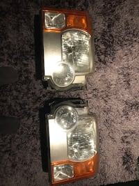 Land Rover - LR3 - 2006 headlight
