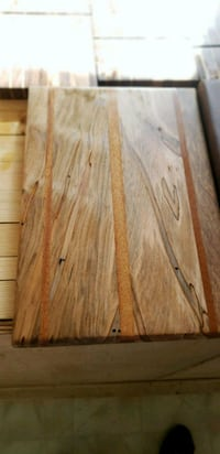 Spalled maple and mahogany cutting boards  Falls Church, 22044
