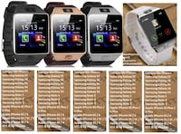 Smart Watch Bluetooth Phone + Camera SIM Card For Android IOS Phones Westminster