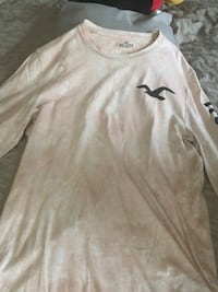 Men size small long sleeve Hollister Shirt Silver Spring, 20904