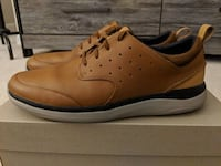 unpaired brown leather low-top sneaker Ashburn