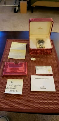 Omega Seamaster 2532.80 Automatic Date Dive Watch+Box,Tag,Card&Holder Fairfax, 22031