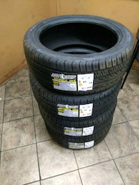 Brand new set of 4 tires 225/45/ZR18 BRAND AUTO GR Temple City, 91780
