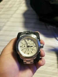Men's Fossil watch silver  Kitchener, N2E 3K9