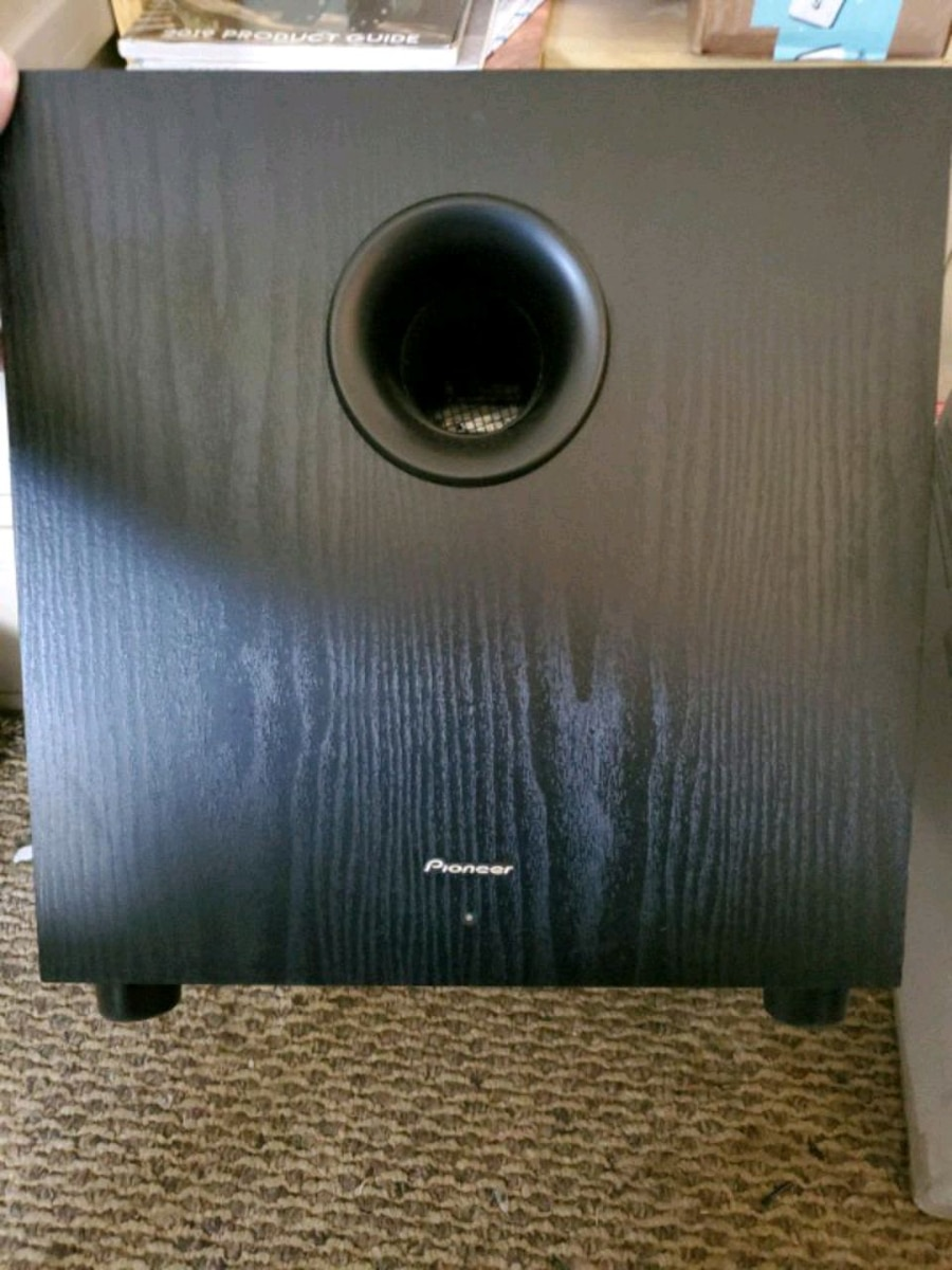 Photo 10 inch Pioneer Home Theater Subwoofer