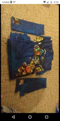 Teenage Mutan Ninja Turtle Curtains Des Moines, 50317