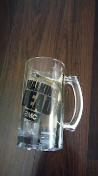 "6.5"" Walking Dead Rick Grimes pint glass Gaithersburg, 20878"