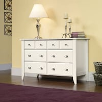 Sauder Shoal Creek 6-Drawer Dresser, White , SKU# 59239 2263 mi