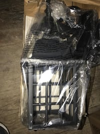 Black steel hanging lantern pack