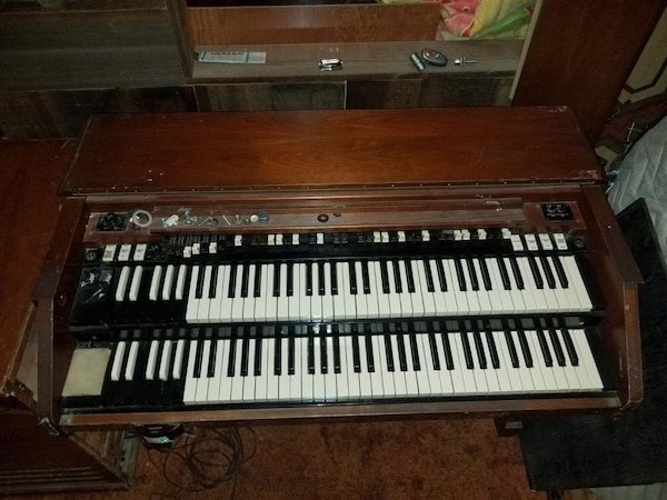 Organ For Sale >> Hammond Organ For Sale Good Condition With Pedals And Leslie Speaker