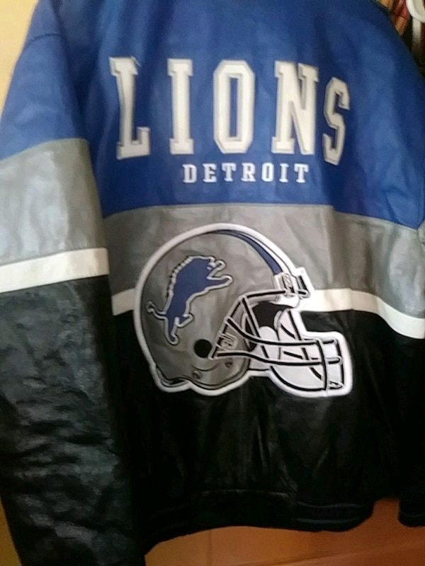 release date: b731a e07fe Authentic Men's NFL Leather Jacket