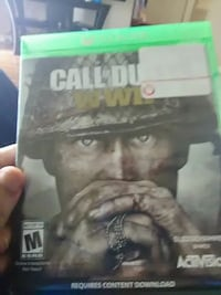 Call of Duty WWII Xbox one game  Nashville, 37214
