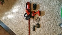 Cordless drill and hedge trimmer  Lethbridge, T1H 2N2