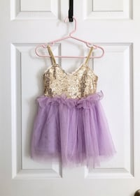Baby girl sequin dress size 12 months Mississauga, L5M 0H2