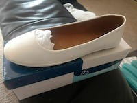White Flats Size 10 Brand New In Box