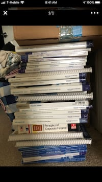 CFA level 2 and level 3 Schweser Books!!!! Vienna, 22180