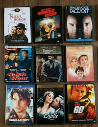 DVDS various (non blu ray) $1 each Longueuil, J3Y 2S8