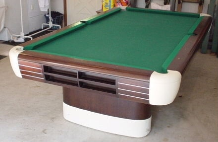 Brunswick Anniversary Pool Table 1964. This Is A Close Picture, It Is Not  Assembled