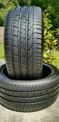 Two 255/35/19 PIRELLI P ZERO 97% TREAD  Tampa, 33602