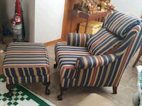 Wingback Chair & Ottoman Searcy, 72143