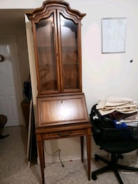 Vintage Antique Secretary Desk