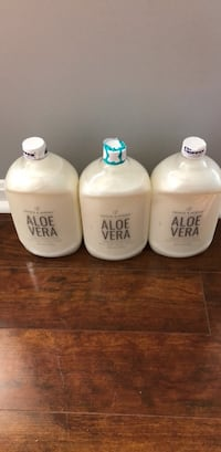 Three 64 FL OZ Aloe Vera hand soap bottles Sterling, 20164