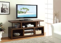 """BRAND NEW Casual TV Console with Open Storage Media Stand 60"""" Widen Tempe"""