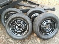 TIRES+ RIMS SET OF (4) 5 X 114  Durham, 06422