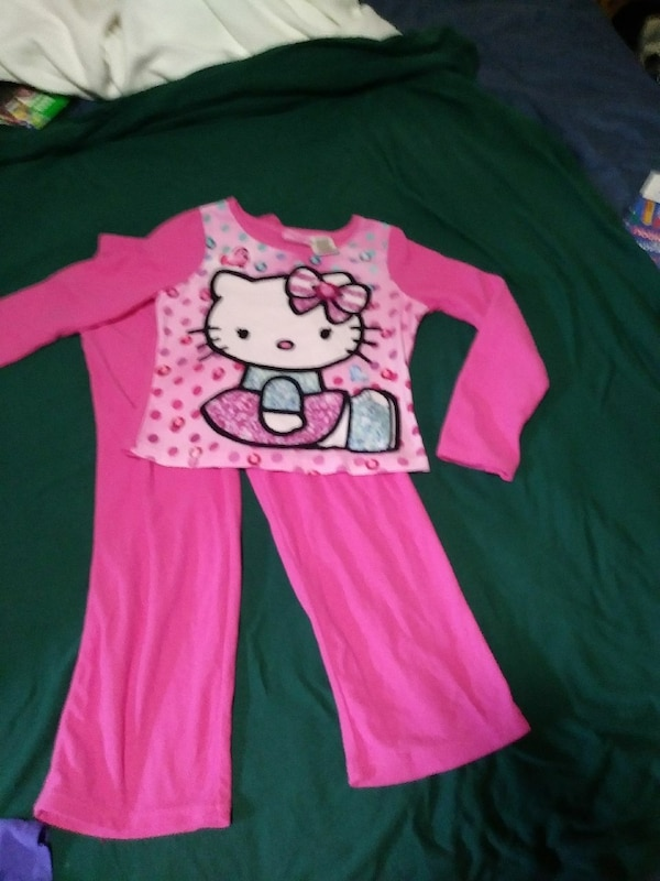 6138a1aa8 Used Hello Kitty pajamas pant suit for sale in Horseshoe Bay - letgo