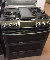 Samsung Flex Duo slide in Double Oven Gas Range Richland, 39218
