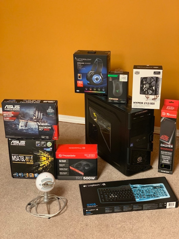 Gaming pc setup (open to offers)