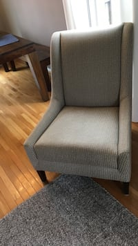 gray wing chair Arlington, 22204