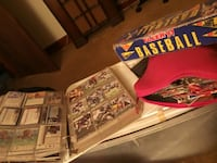 All kinds of baseball cards lots n lots of them