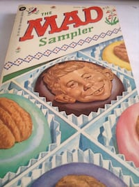 Rare collectible early MAD magazine : The Mad Sampler (Book)