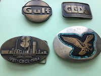Vintage belt buckles St. Albert