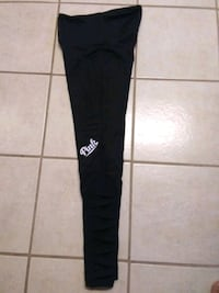 Women's Pink Black Leggings sz Small El Paso, 79935