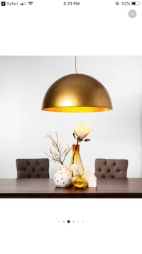 NEW (in box) Gold Large Dome Light Bloomington, 55420