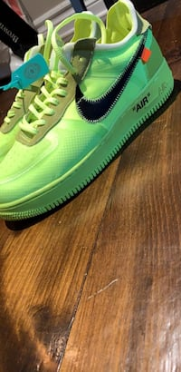 Off white Air Force 1's Bolton, L7E 4W7